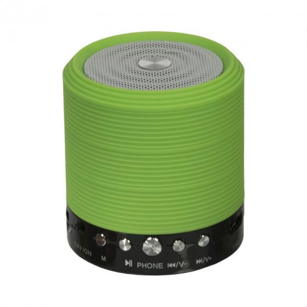 Портативная Bluetooth колонка WSTER WS-631 Green