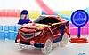 Детский игрушечный трек для машинок на пульте управления DAZZLE TRACKS 187 деталей   конструктор трасса, фото 2