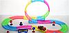 Детский игрушечный трек для машинок на пульте управления DAZZLE TRACKS 187 деталей   конструктор трасса, фото 6