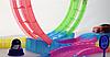 Детский игрушечный трек для машинок на пульте управления DAZZLE TRACKS 187 деталей   конструктор трасса, фото 7