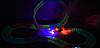 Детский игрушечный трек для машинок на пульте управления DAZZLE TRACKS 187 деталей   конструктор трасса, фото 8