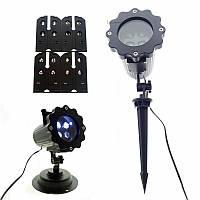 Лазерный проектор для дома Laser Projector Lamp 4 картриджа | гирлянда лазерная подсветка для дома
