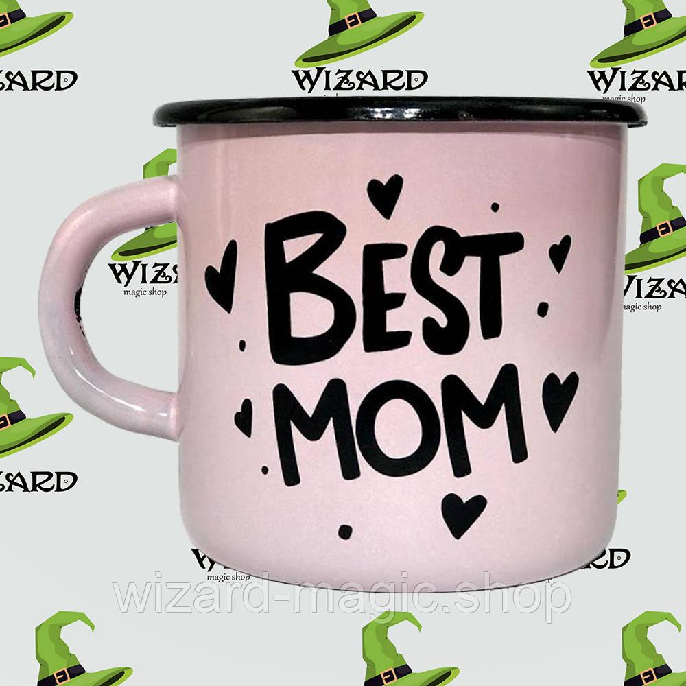 Дизайнерская кружка Best mom