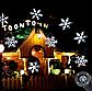 Лазерный проектор для дома Star Shower White Snowflake WP1 | гирлянда лазерная подсветка для дома, фото 2