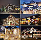 Лазерный проектор для дома Star Shower White Snowflake WP1 | гирлянда лазерная подсветка для дома, фото 4