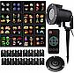 Лазерный проектор для дома Christmas Laser Projector 16 картриджей | гирлянда лазерная подсветка для дома, фото 8