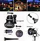 Лазерный проектор для дома Christmas Laser Projector 16 картриджей | гирлянда лазерная подсветка для дома, фото 9
