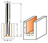 Фреза пазовая прямая CMT ф6x19мм хв.12мм (арт. 911.560.11)