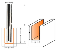 Фреза пазовая прямая CMT ф6x19мм хв.12мм (арт. 911.560.11), фото 1