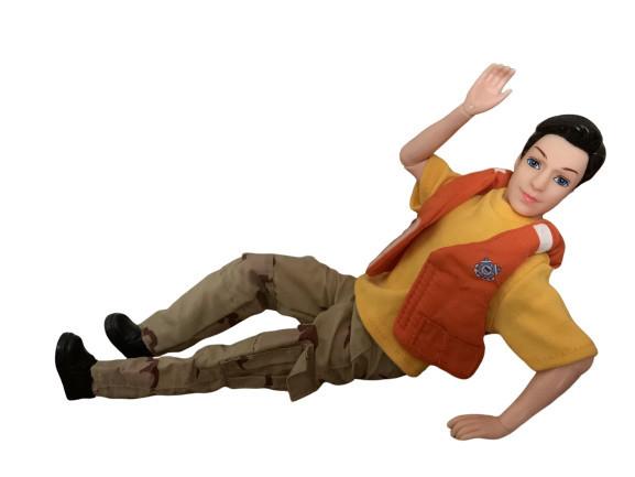 """Подвижная BJD кукла """"Кен"""" солдат американской береговой охраны"""