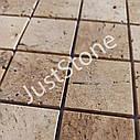 Мозаика из травертина Стар.Невалт. МКР-3СН (47х47) 6 мм Travertine Classic, фото 4