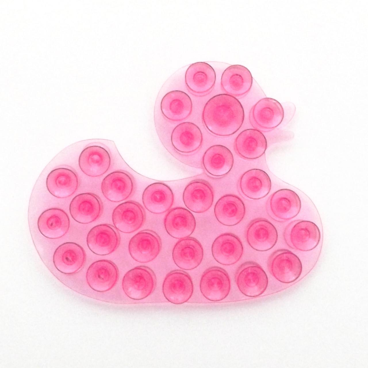 Полочка -липучка Уточка розовая
