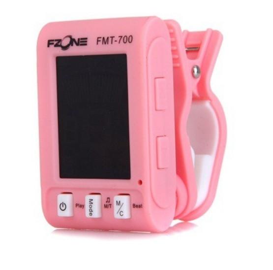 Тюнер-метроном прищіпка FZONE FMT700 Pink