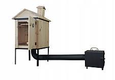 Коптильня 2 в1 для холодного и горячего копчения  Smoke House, фото 3