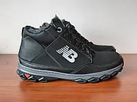 Чоловічі зимові кросівки чорні теплі зручні (код 8355), фото 1
