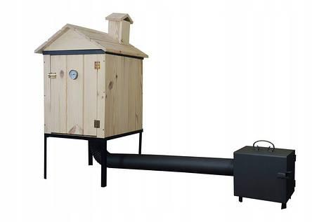 Коптильня 2 в1 для холодного и горячего копчения  Smoke House, фото 2