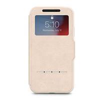 Чехол для iPhone XR Moshi SenseCover Touch-Sensitive Portfolio Case with SensArray Savanna Beige (99MO072111)