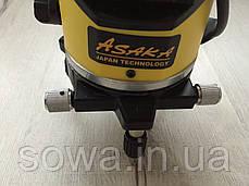 ✔️ Лазерний рівень нівелір Asaka ASNL01 + штатив • 5 ліній / 6 точок, фото 2