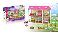 Набор игрушечный домик на 6 комнат