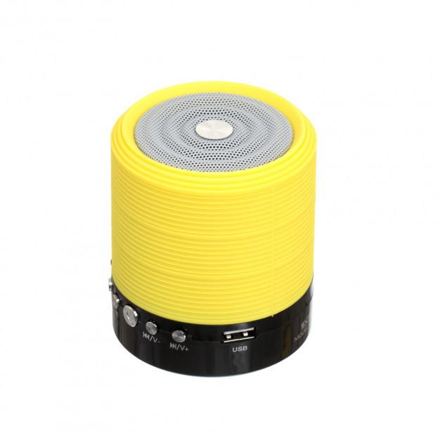 Портативна Bluetooth колонка WSTER WS-631 Yellow