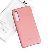 Силиконовый чехол на Xiaomi Mi 9 Soft-touch  Pink