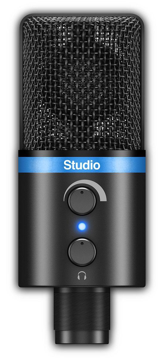 Цифровий конденсаторний мікрофон IK MULTIMEDIA iRig Mic Studio (Black)
