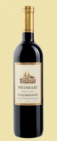 Вино MEOMARI Кіндзмараулі червоне напівсолодке 0.75 л 12.5% Грузия