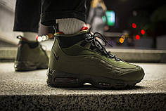 Мужские кроссовки Nike Air Max 95 Winter Green ( Реплика )