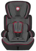 Детское автокресло Lionelo Levi Plus Black/Red (9-36 кг)