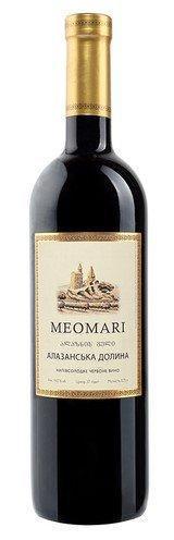 Вино MEOMARI Алазанська долина червоне напівсолодке 0.75 л 14% Грузия