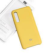 Силиконовый чехол на Xiaomi Mi 9 Soft-touch  Yellow