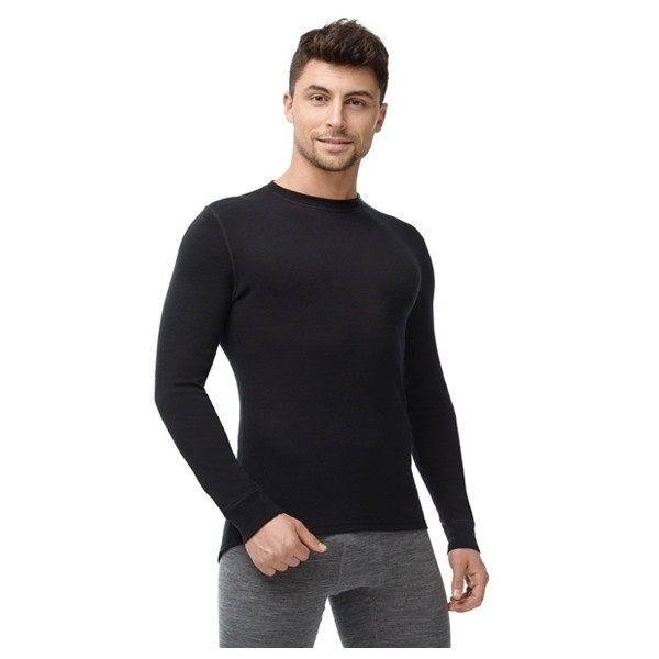 Термофутболка мужская с длинным рукавом Norveg Soft Черный XL