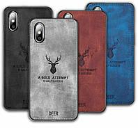 Чехол Deer для Xiaomi Redmi 7A бампер накладка / Стекло в наличии, фото 1