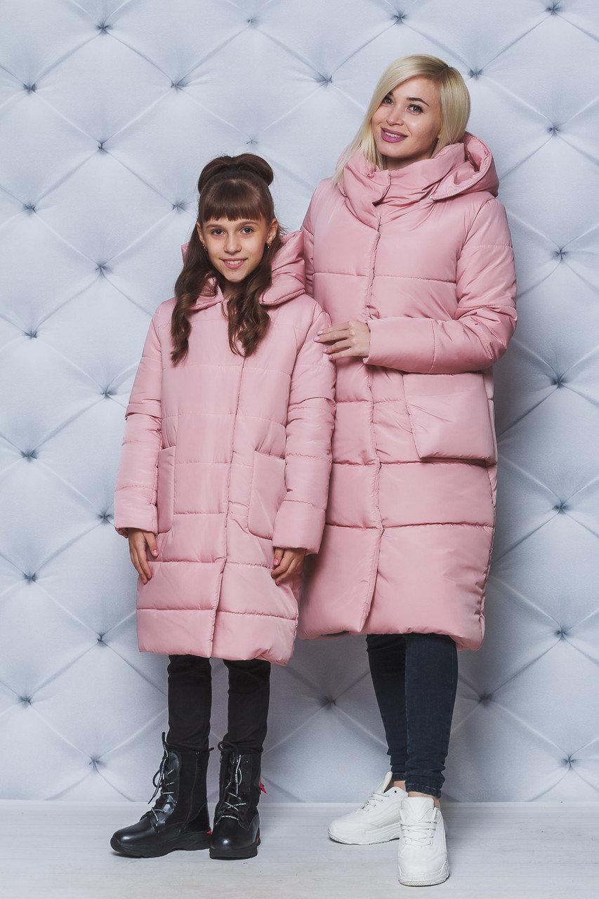 Пальто зимнее  женское удлиненое