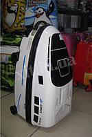 Детский чемодан - машина на 4 колесах