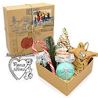 Подарунок від Святого Миколая, коробка з сюрпризом, друку пошти, марка, сургучна печатка