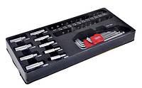 """Вклад в шкафы для инструмента торцевые головки 1/4"""", биты, заготовки"""