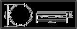 Розумний світильник Global 40W (пульт, димминг, нічник, CCT 3000-6500K, IP44) коло, фото 3