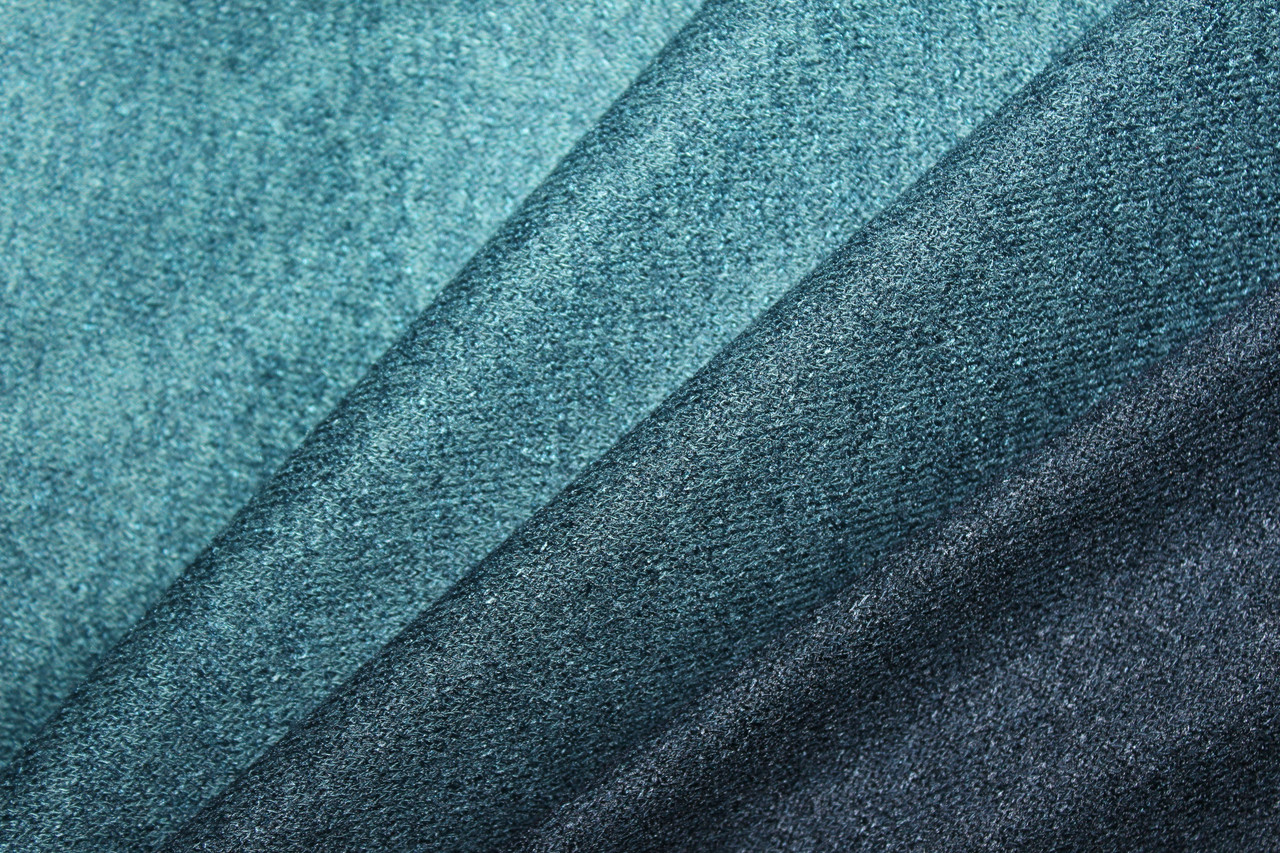Ангора класична,  градиент, перехід кольору від кромок на 35 см., морська волна до центру в зелений ніжний, фото 1