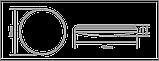Розумний світильник Global 60W (пульт, димминг, нічник, CCT 3000-6500K, IP44) коло, фото 3