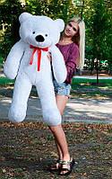 Плюшевый Мишка 120см. Большая Игрушка Мишка игрушка Плюшевый медведь Мягкие мишки игрушки Ведмедик (Белый)