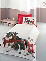 Комплект постельного белья Victoria 3D сатин полуторный подростковый