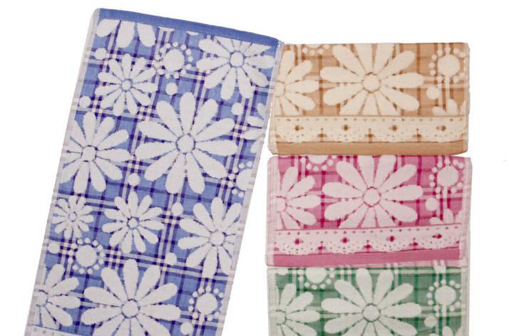 Полотенце кухонное лен с махрой 25*50 см (от 20 шт), фото 2