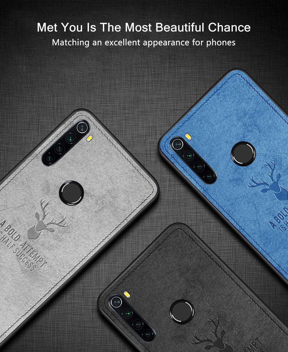 Чохли Deer для Xiaomi Redmi Note 8 / бампер накладка / Скла в наявності /