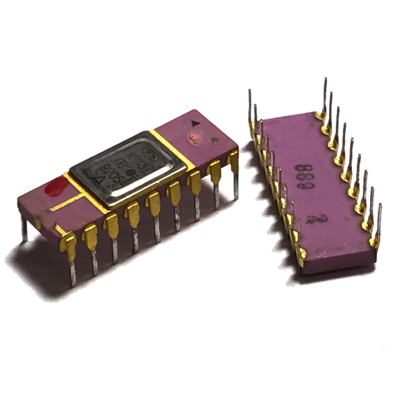 К1113ПВ1Б (Au) 10-разрядный аналого-цифровой преобразователь, сопрягаемый с микропроцессором