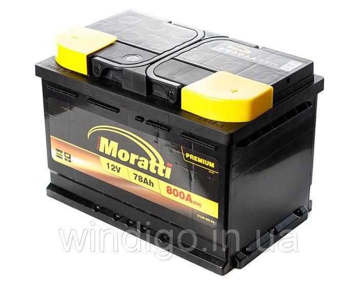 Moratti Premium 6СТ-78 (0)