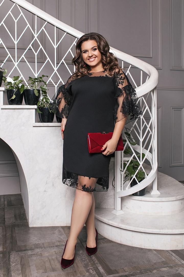 Нарядное женское вечернее платье с вышивкой 50-60р.