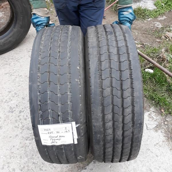 Грузовые шины б.у. / резина бу 265.70.r19.5 Goodyear Regional RHS2 Гудиер