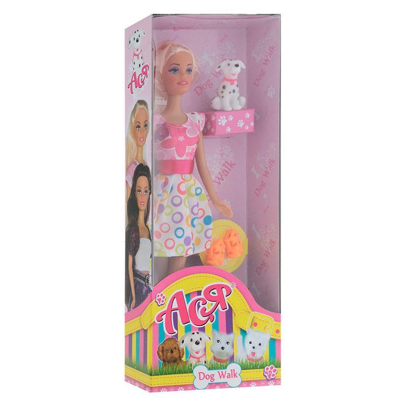 35058.Лялька Ася з аксесуарами