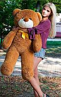 Плюшевый Мишка 120см.Большая Игрушка Мишка игрушка Плюшевый медведь Мягкие мишки игрушки Ведмедик (Коричневый), фото 1